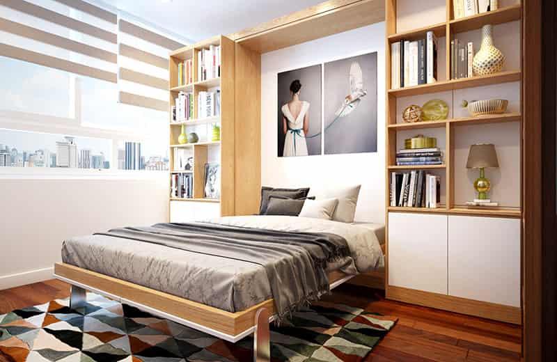 phong cách thiết kế nội thất thông minh cho căn hộ nhỏ