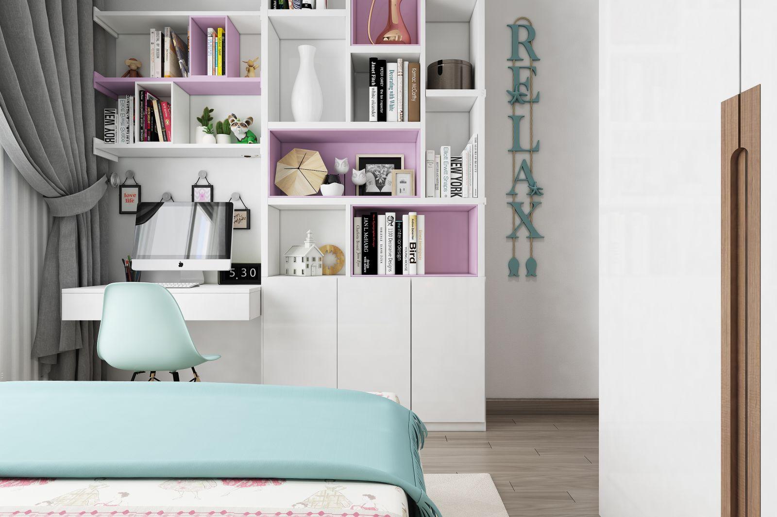 Thiết kế nội thất căn hộ An Binh - Anh Phát