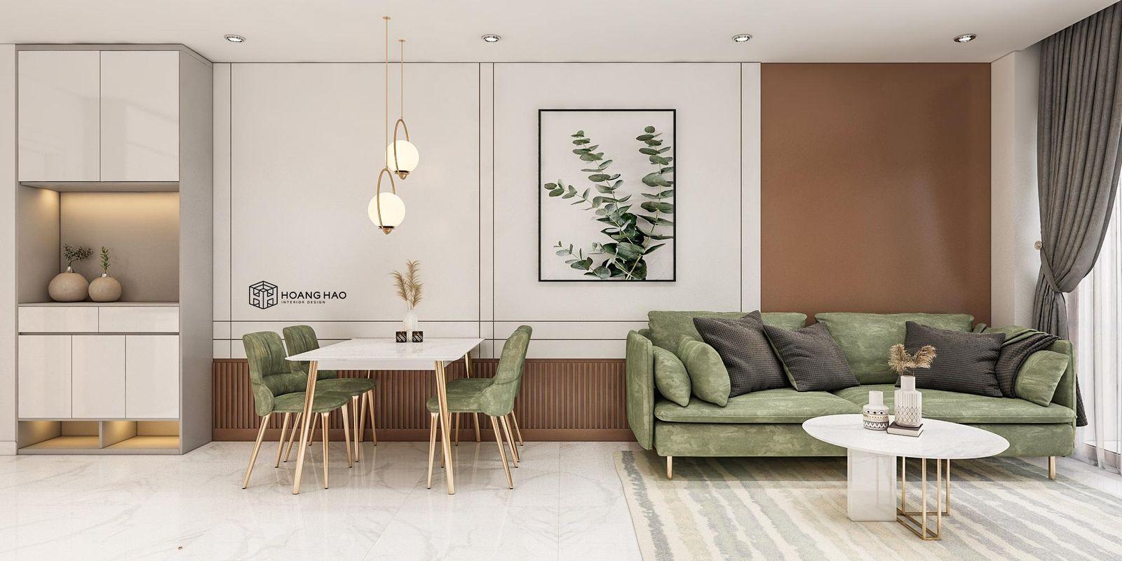 Thiết kế nội thất căn hộ One Verandah 74m2