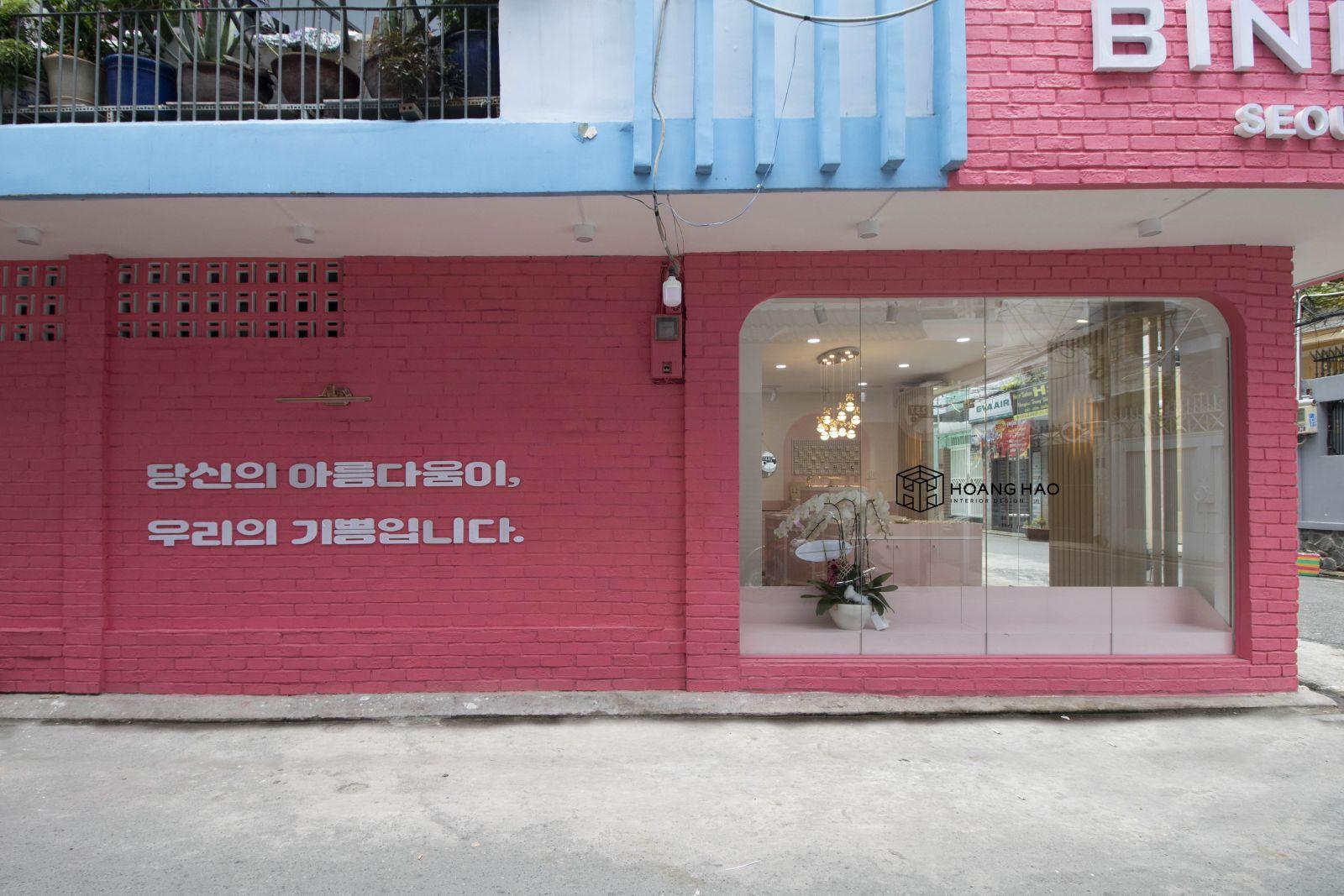 Thi Công Nội Thất Shop Bina