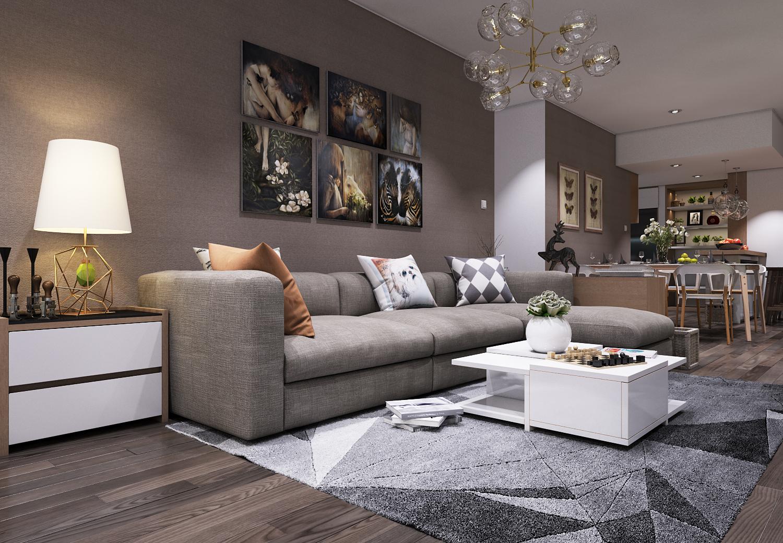 Thiết kế căn hộ chung cư Prince Residence 109m2