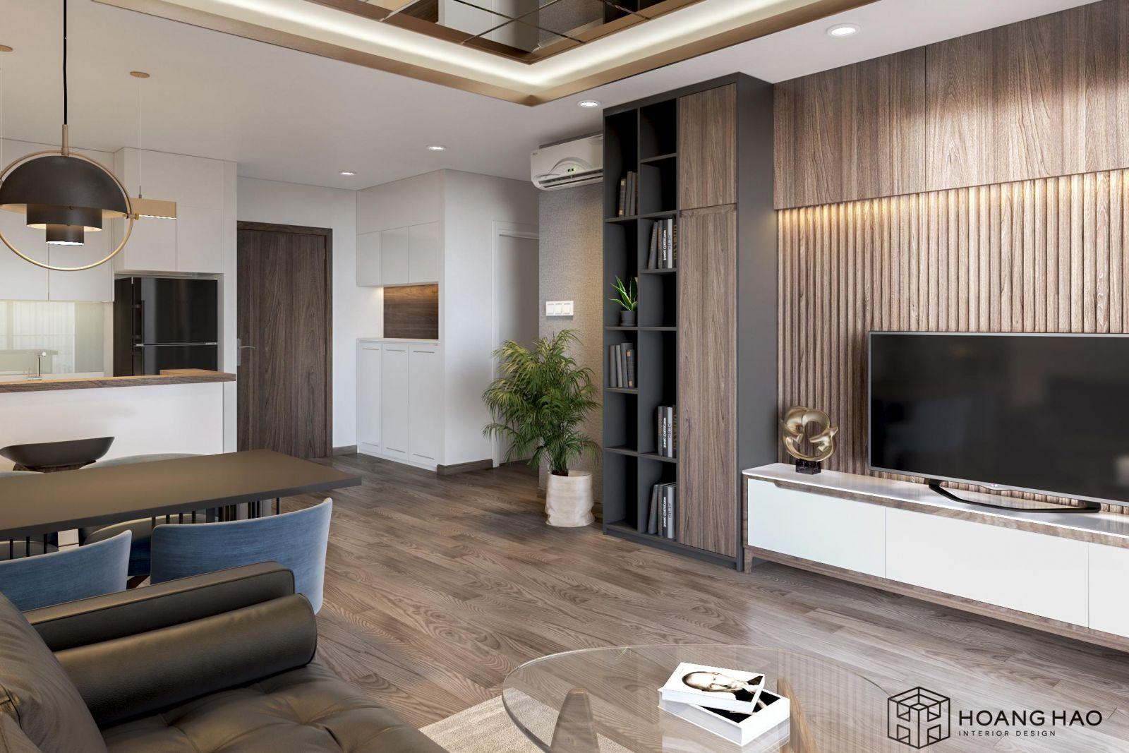 Thiết kế nội thất căn hộ Gold View 62 m2
