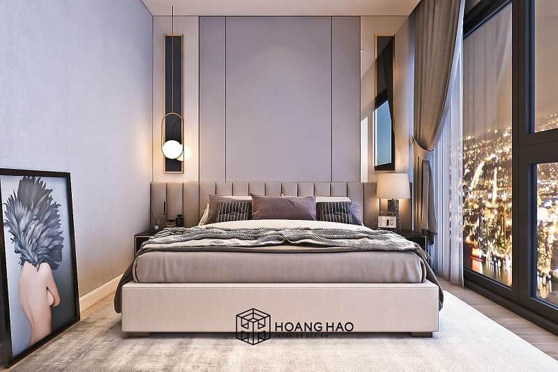 không đặt đầu giường ngủ hướng về các góc nhọn
