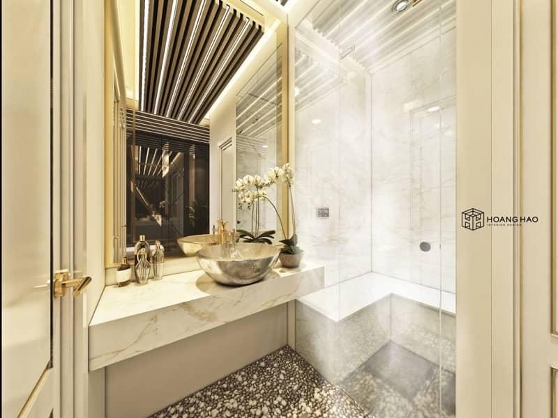 chú ý đến thiết kế từng khu vực trong spa